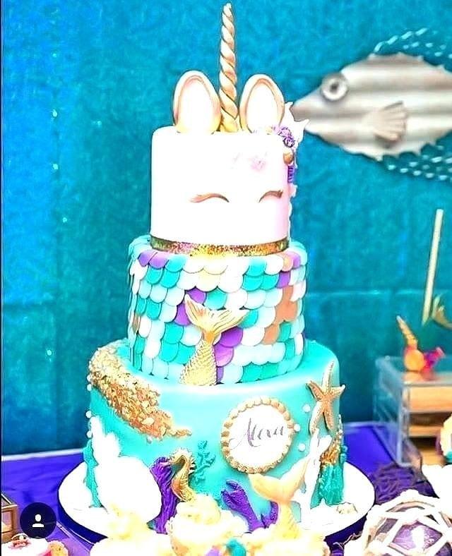 Mermaid And Unicorn Party